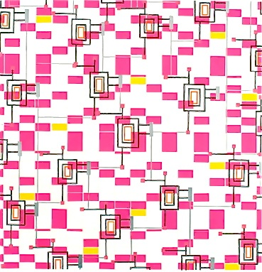 Cosmos Pink Spiral