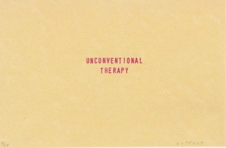unconventional therapy