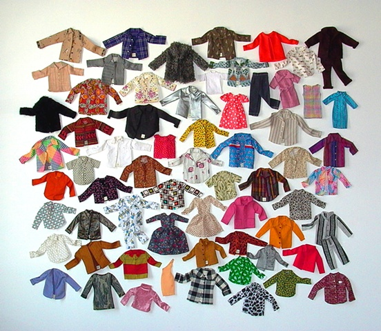 Miniature Clothing Project Install