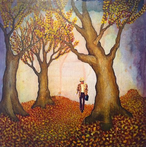 Jeffrey Schweitzer The Drifter: Amongst the Fallen Leaves