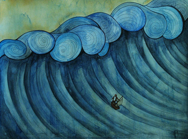 Jeffrey Schweitzer The Drifter: Rough Seas