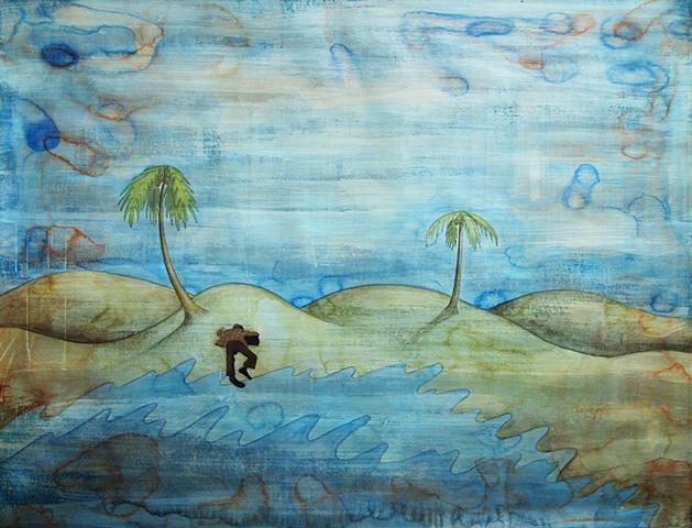 Jeffrey Schweitzer The Drifter: Beached