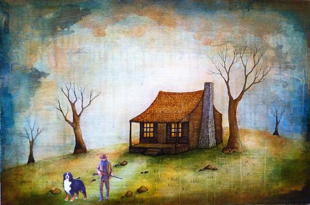 Jeffrey Schweitzer Future Mythologies: Leaving at Dawn