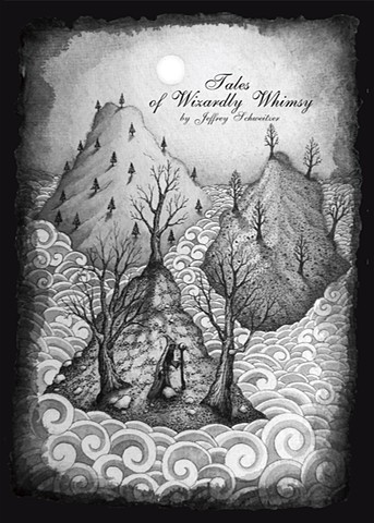 Tales of Wizardly Whimsy is the second illustrated short story of narrative poems by artist Jeffrey Schweitzer