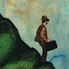 Jeffrey Schweitzer The Drifter: Walking At Dusk