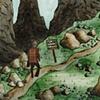 Jeffrey Schweitzer The Drifter: High in the Mountains (detail)