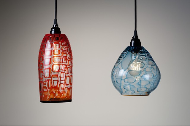 Custom Glass Pendant Lighting