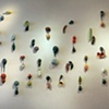 Botanical Duet Wall Installation for LURE at Sherrie Gallerie, March 2008