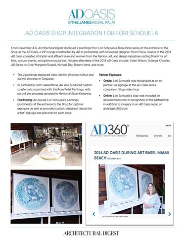 AD Oasis Show Art Basel Miami 2014