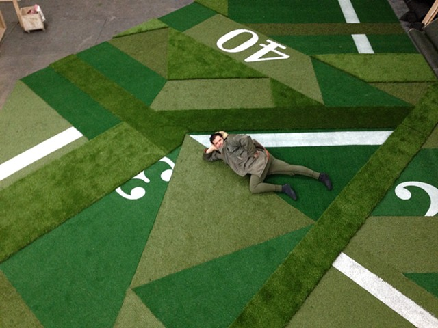 Collaged Turf for H&M