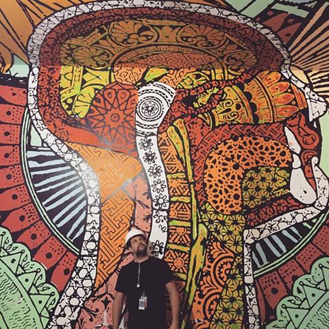 Kiehl's mural