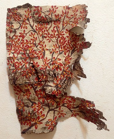 Birch Bark Drawing #20