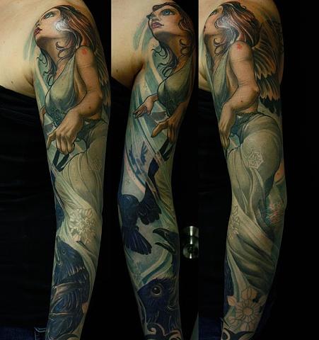 Angel Eric James tattoo art Phoenix Arizona