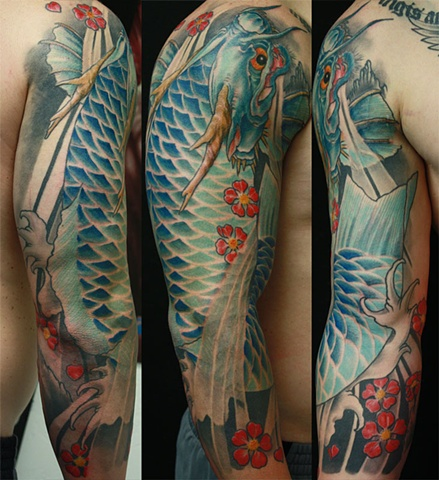 Eric James tattoo Japanese traditional Phoenix Tattoo Company