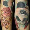 Rasputin and a panda