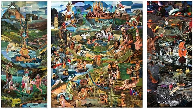 Collage, Brian Kavanaugh