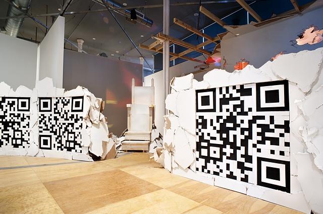 Paper Walls, Installation View, 2011