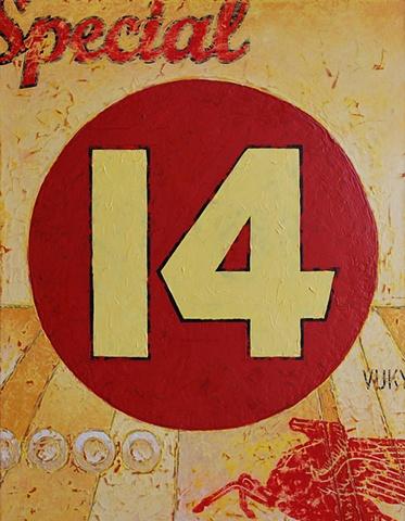 Numbers, typography, racing, yellow, red, Pegasus