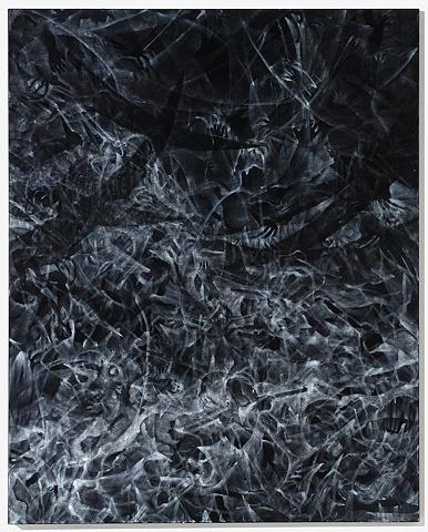 Oil stick on canvas