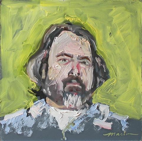 """""""Tempest"""" Self-Portrait"""