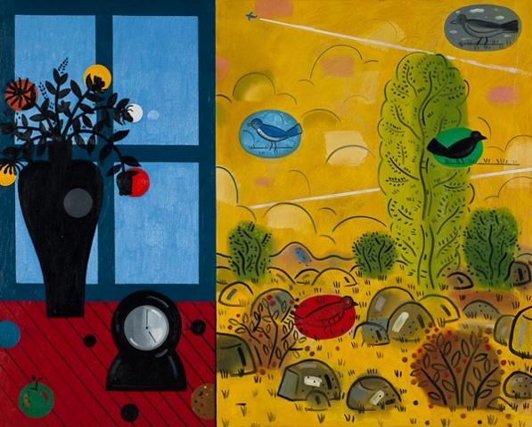 "Richard Thompson ""Blue Window"""