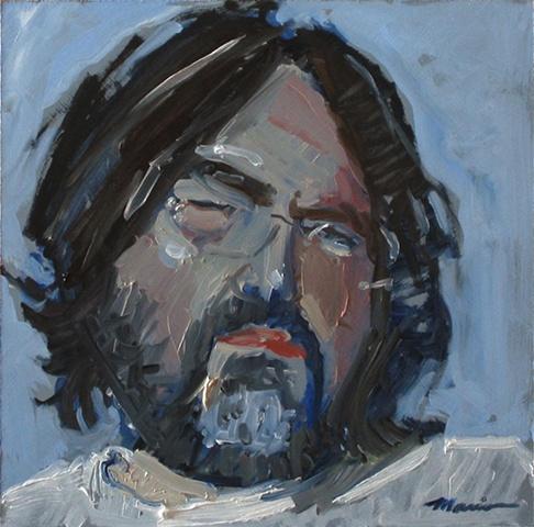 """""""Squint"""" Self-Portrait"""