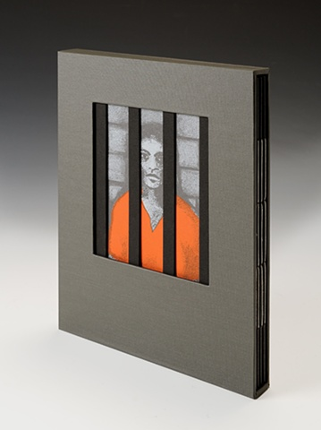 Artist's book dealing with immigrants in US prisons and jails