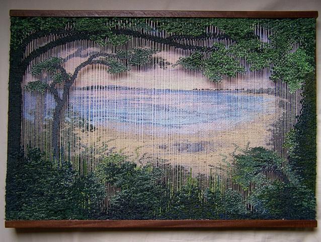 """Northwest Harbor Layered Tapestry (15""""x21"""")"""