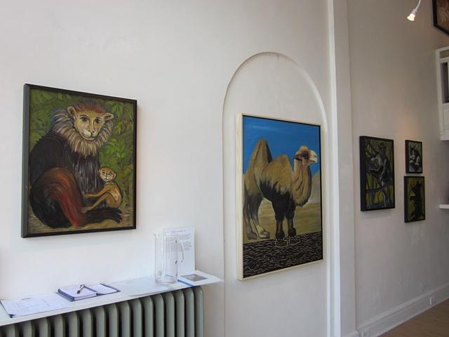 Installation of exhibit