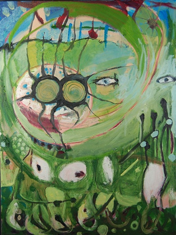Mary Begley Studio Window