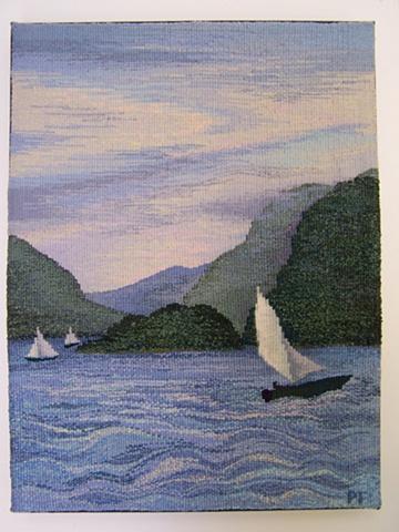 """Hudson River Highlands (15""""x20"""")"""