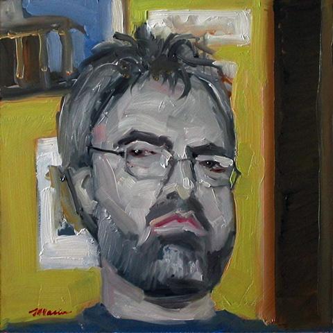 """Haircut"" Self-Portrait"