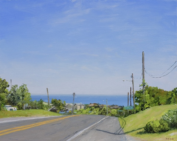 Landscape, plein air painting