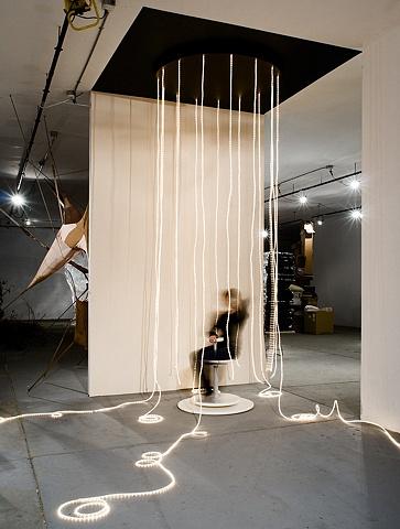 interactive sculptural installation