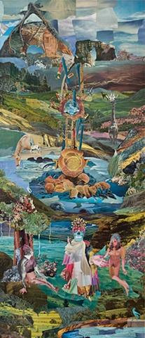 collage, Brian Kavanaugh, paradise