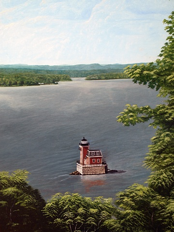 """Athens-Hudson Light House"""