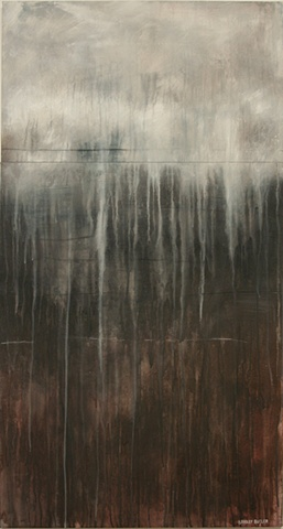 The Painting, The Muted Surface is part of Bradley Butler's on-going series called A Glimpse Beyond The Real.