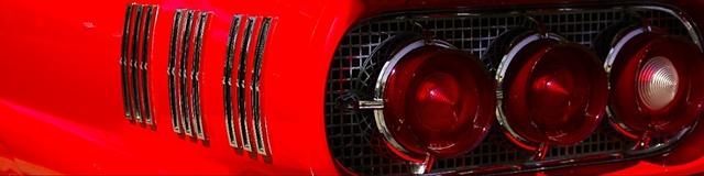 Classic Thunderbird taillights
