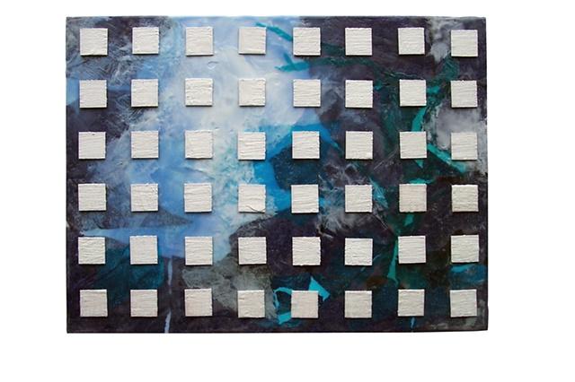encaustic art collage pflick flick artist