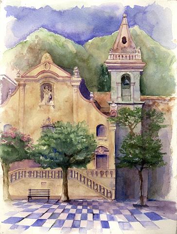 Taormina Sicily Chapel