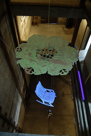 Chandelier for Ernst Haeckel  (Installation view 5)