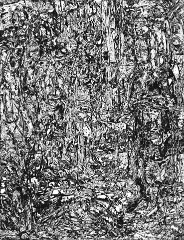 Woods, forest, stylized, figures, composition, light, shadow, black & white, shapes, lines, forms, perception, drawing, abstract