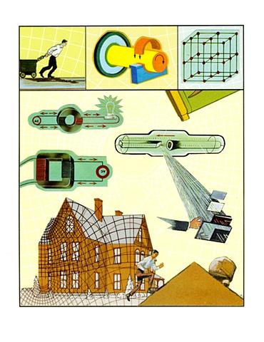 w. david powell collage