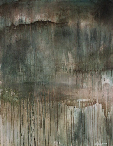The Painting, Impossible Becoming Possible, 2 is part of Bradley Butler's on-going series called A Glimpse Beyond The Real.