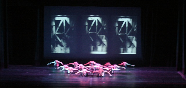 Matrix Stage Design Projection and lighting