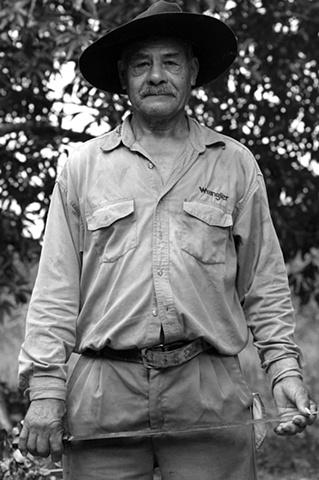 Arturo is a campesino who grows vanilla in Juana Moza, Veracruz, Mexico