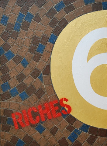 graffiti, tile, gold, typography