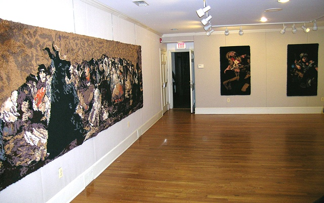 Installation of The Quinta del Sordo series in Rome, NY