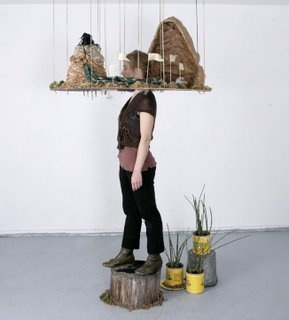 Sara Worden, Canopy, Sculpture, Permaculture, botany, installation
