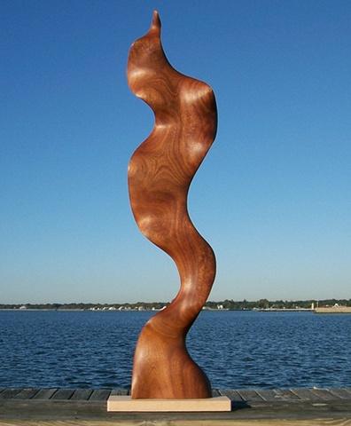 Sculpture, wood carving, art, water, movement, sea, organism